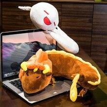 Anime Genshin Impact Zhongli Hutao Cosplay U Type Neck Pillow Comfortable Soft Travel Costume Props