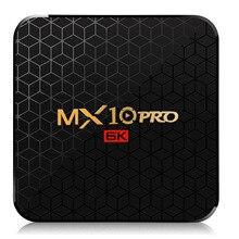 New MX10 Pro 4GB RAM 64GB Wifi TV Box Allwinner H6 6K Ultra-clear Display Android 9.0 TV Box Quad Core USB 3.0 Set Top Box цена 2017