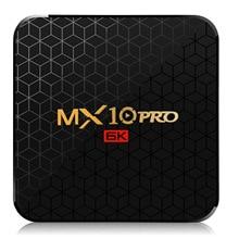 New MX10 Pro 4GB RAM 64GB Wifi TV Box Allwinner H6 6K Ultra-