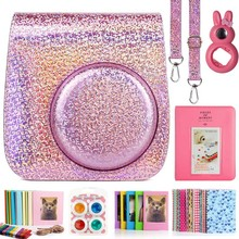 Compatible Instax Mini 9 Camera Case Bundle Flash Color with Album Filters and Other Accessories for Fujifilm Instax Mini 9 8 8+