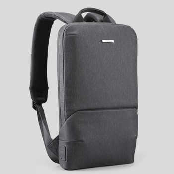 2020 fashion new men\'s backpack business casual laptop backpack light and water-repellent multifunctional USB charging bag