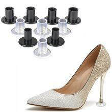 1 pares de protetores de salto alto latina stiletto dança cobre rolhas de calcanhar antiderrapante silicone alta heeler para o favor do casamento macio