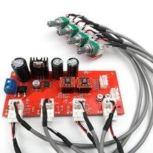 SOTAMIA AD828 przedwzmacniacz Stereo płyta wzmacniacza tonów wysokich średni bas objętość kontrola dźwięku przedwzmacniacza przedwzmacniacz płyty płyta wzmacniacza lepiej niż NE5532