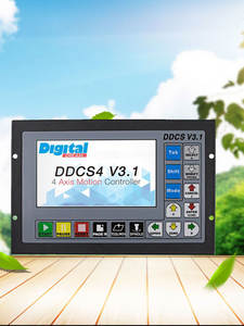 Upgraded DDCSV3.1 3/4 axis 500KHz G-Code Offline Controller for CNC Drilling Milling