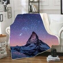 Многофункциональное двустороннее уплотненное супер мягкое одеяло с HD печатным рисунком для детей и взрослых, Всесезонная Новинка