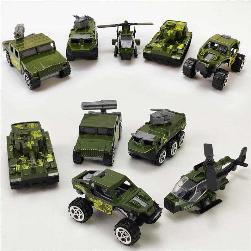 5pcs Mini Military Toys Vehicles Models Alloy Car Model Mini Diecast Army Car Toys Outdoor Lawn Beach Baby Toys 2020 New