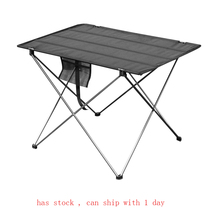 Tragbare Faltbare Tisch Camping Outdoor Möbel Computer Bett Tische Picknick 6061 Aluminium Legierung Ultra Licht Klapp Schreibtisch
