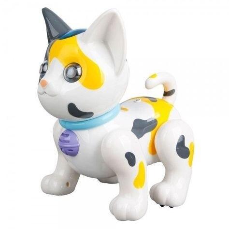 RC Robot Interactive White Cat-2059