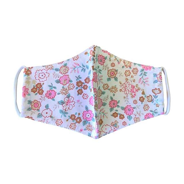 Re-usable Washable Designer Fabric Women's Face Covering Mask 3 Pack Cotton Dustproof Anime Cartoon Kpop tapabocas lavables#w 3
