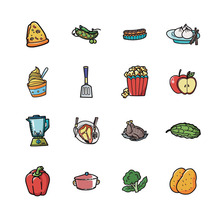 5pcs food brooch coffee icon for clothes plastic acrylic badges on backpack decoration the hat cute brand pin