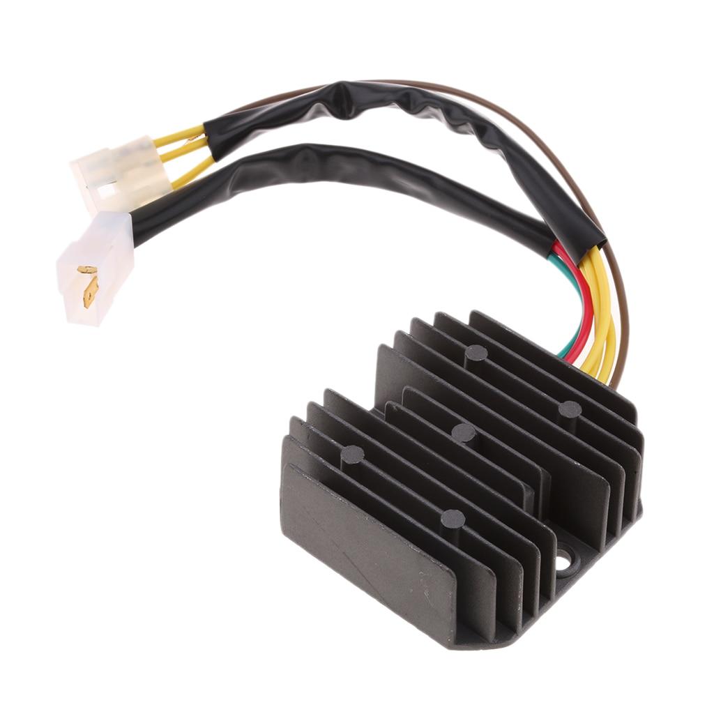 1 Pcs Voltage Rectifier Regulator For BMW F650GS F650ST Strada Funduro F650CS Plug-and-play 3.15*3.15*1.18 Inch