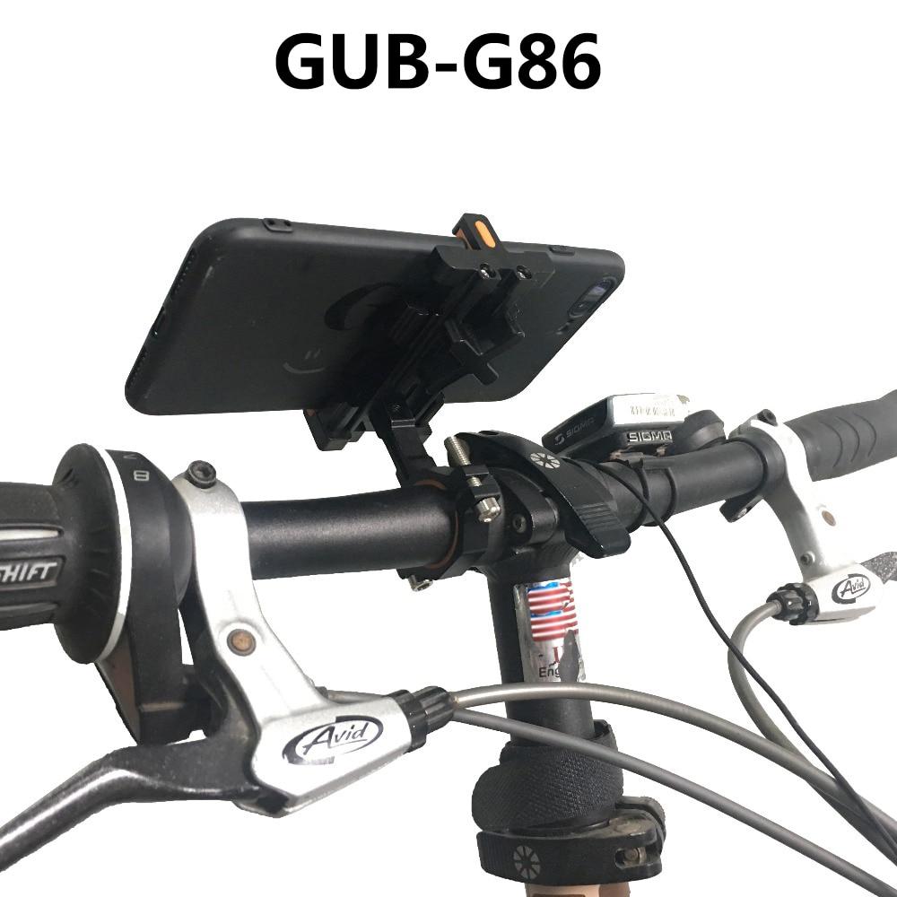 GUB G-86 Mobile Phone Holder Aluminum Alloy Mobile Phone Holder For Smartphones From 3.5
