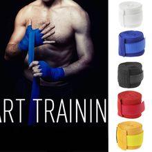 1pair 3m Cotton Bandage Boxing Wrist Bandage Muay Thai Handwraps Training Gloves