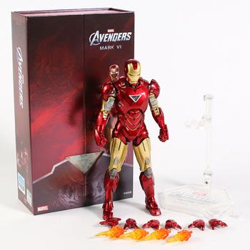 Marvel klasyczny Iron Man MK6 Mark VI film figurka Mark 6 Avengers Tony Stark Legends oryginalny ZD zabawki lalki Model tanie i dobre opinie Disney 4-6y 7-12y 12 + y CN (pochodzenie) Unisex not for children under 3 years 18cm Wersja zremasterowana Wyroby gotowe