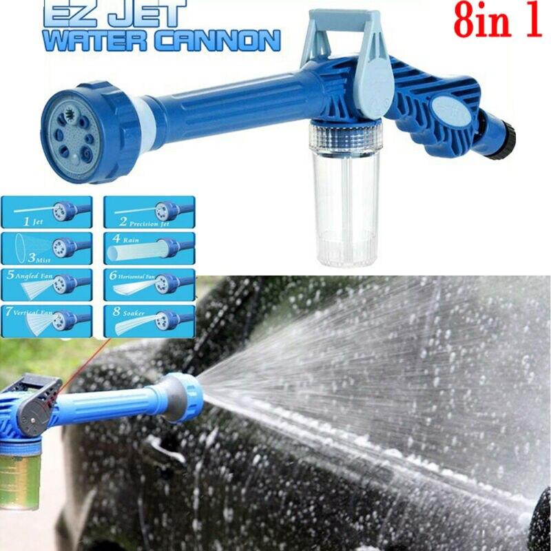8 Nozzle Ez Jet Water Soap Cannon Dispenser Pump Spray Gun Car Washer US|Garden Water Guns| |  - title=