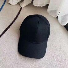 New Fashion Unisex Luxury Brand Hat Cotton Hard Top Caps Korean Version Tide Baseball Cap For Women Embroidery Adjustable Hats