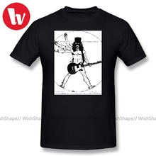 Axl Rose T Shirts Slash With Guitar 100 Cotton T