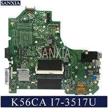 KEFU K56CM Laptop motherboard for ASUS K56CA K56CB K56C S550CA original motherboard I7 3517U