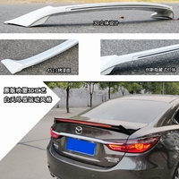 For Mazda 6 atenza Spoiler 2014-2018 ABS Plastic Unpainted Color Rear Roof Spoiler Wing Trunk Lip Boot Cover Car Styling