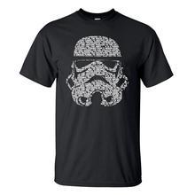 Men T Shirt 2019 Summer Fashion Star Wars Yoda/Darth Vader S