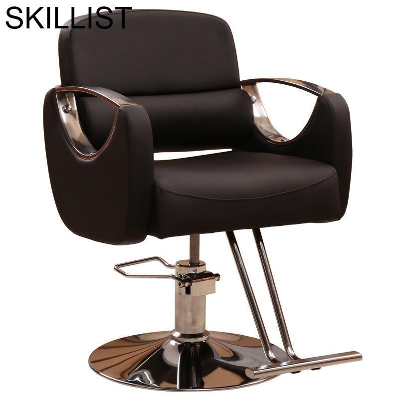 De Cabeleireiro Makeup Sedie Nail Furniture Fauteuil Schoonheidssalon Mueble Barbershop Salon Shop Barbearia Barber Chair