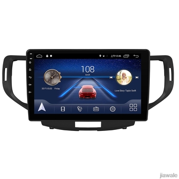 9 octa core 1280*720 QLED screen Android 10 Car GPS Navigation for Honda Accord Crosstour Inspire europe version 2008-2012 image