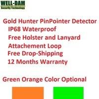 Ip68 방수 pinpointer 핸드 헬드 금속 탐지기 지하 금속 탐지기 골드 파는 사람
