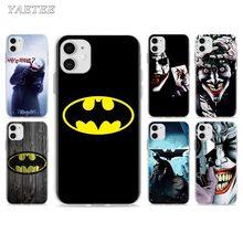 Batman Joker Dark Knight Phone Case for iPhone 11 Pro 7 8 SE 2020 X XR XS MAX 6 6s Plus 5 5s 7+ 8+ TPU Soft Cover 3d cigarette phone case for iphone 7 creativity soft silicon tpu cover for apple iphone 6s 6 x 8 plus 5 se 5s case 7 plus 6 plus
