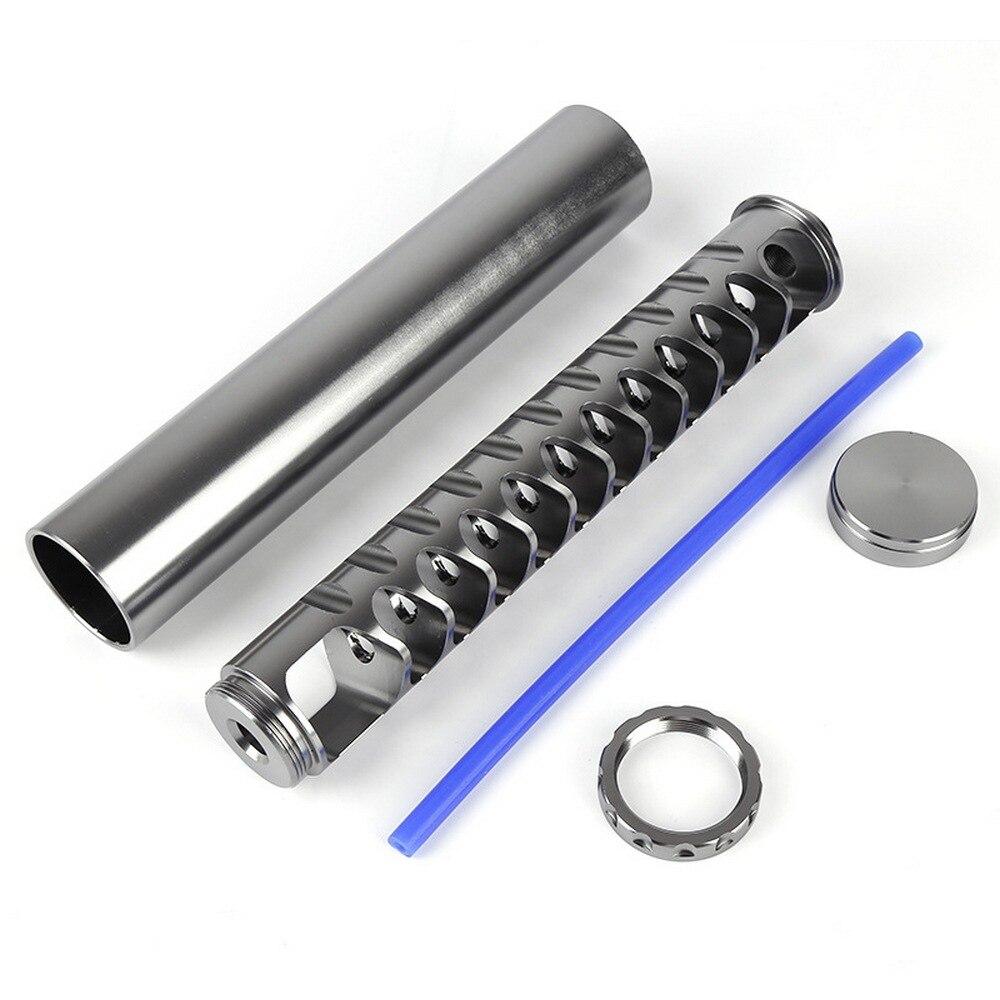 1/2-28 & 5/8-24 резьбовой 10-дюймовый удлинитель автомобильный топливный фильтр Алюминиевый автомобильный растворитель ловушка Набор для NAPA 4003 WIX ...