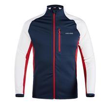 Мужская мягкая тянущаяся Женская флисовая куртка Легковесный горный вязаный на молнии классический крой пальто для осенне-зимнего спорта на открытом воздухе