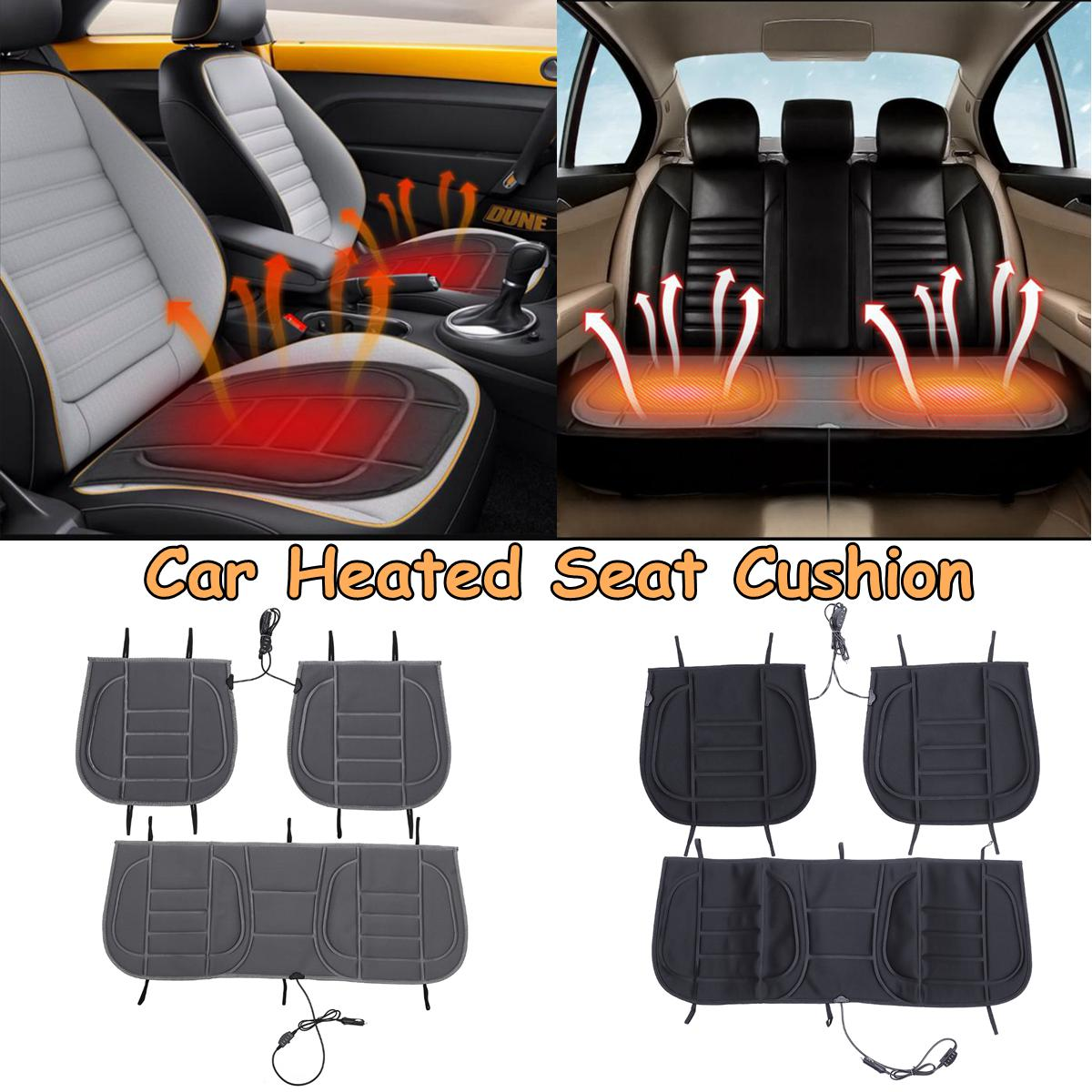 Heated-Cushion-Covers Warmer Heating-Pad Car-Seat Universal Front Winter Rear 12V