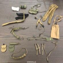 Lote 20 pçs/pçs/set soldado uniformes acessórios para eua alemanha segunda guerra mundial militar 12 polegada o soldado final figuras de ação brinquedos