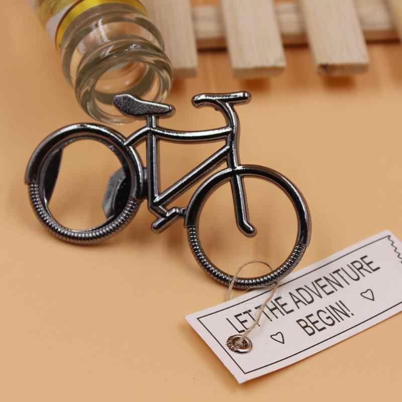 2020 abridor de botellas de cerveza de Metal creativo para bicicleta, recuerdos de boda, suministros de Bar para fiestas, vajilla, juego de vino, pequeño regalo, llavero para bicicleta