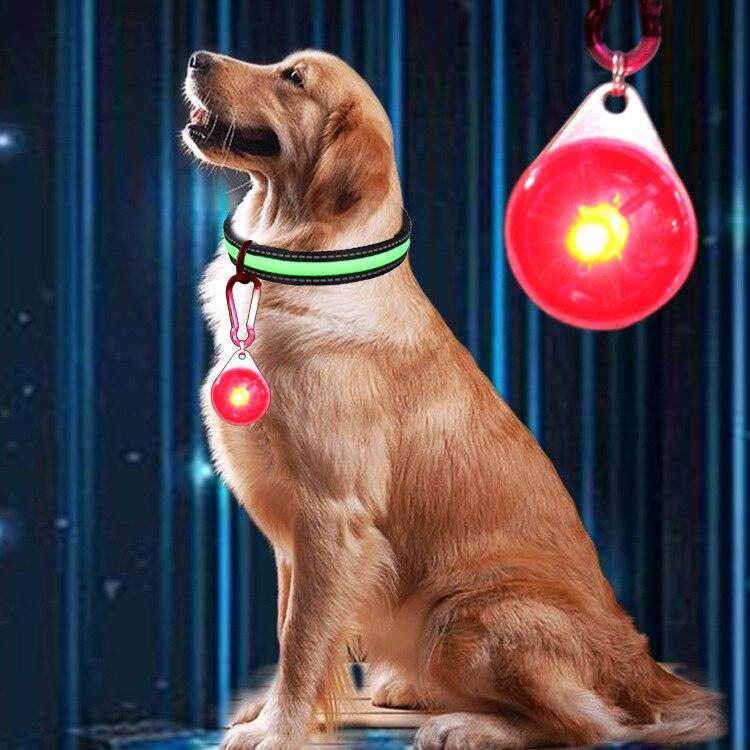 LED Dog Light-emitting Pendant Anti-Lost Night Dog Useful Product Small Medium Large Dog Dog Tag Collar Supplies