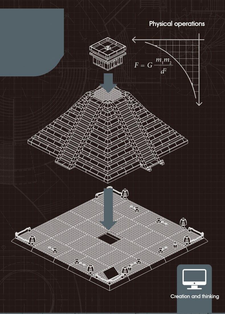Mundo famoso arquitetura méxico maya ruínas pirâmide
