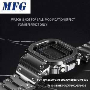 Image 1 - Uhr Band Lünette Strap DW5600 GWM5610 Metall Edelstahl Armband Fall Rahmen Armband Zubehör Reparatur Werkzeug