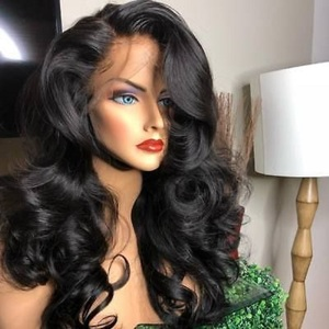 Image 1 - 13x4 Lace Front Human Hair Wigs Brazilian Body Wave Lace Wig With Baby Hair Glueless Beaudiva Remy Human Hair Lace Closure Wigs