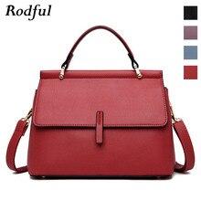 Brand new fashion messenger bag womens leather handbags female shoulder crossbody bags for women purple light blue red black