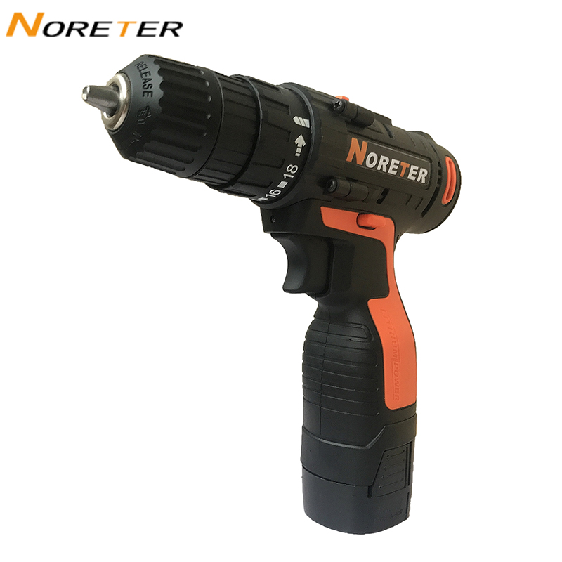 12V Cordless Drill First Gear Electric Screwdriver Home DIY Multifunction Mini Wireless Power Driver DC Lithium-Ion Battery