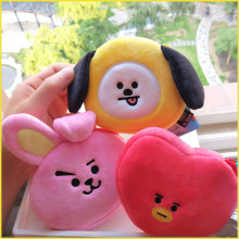 11CM new mini plush wallet small gift bag Korean cartoon purse child girl sanrio WJ165