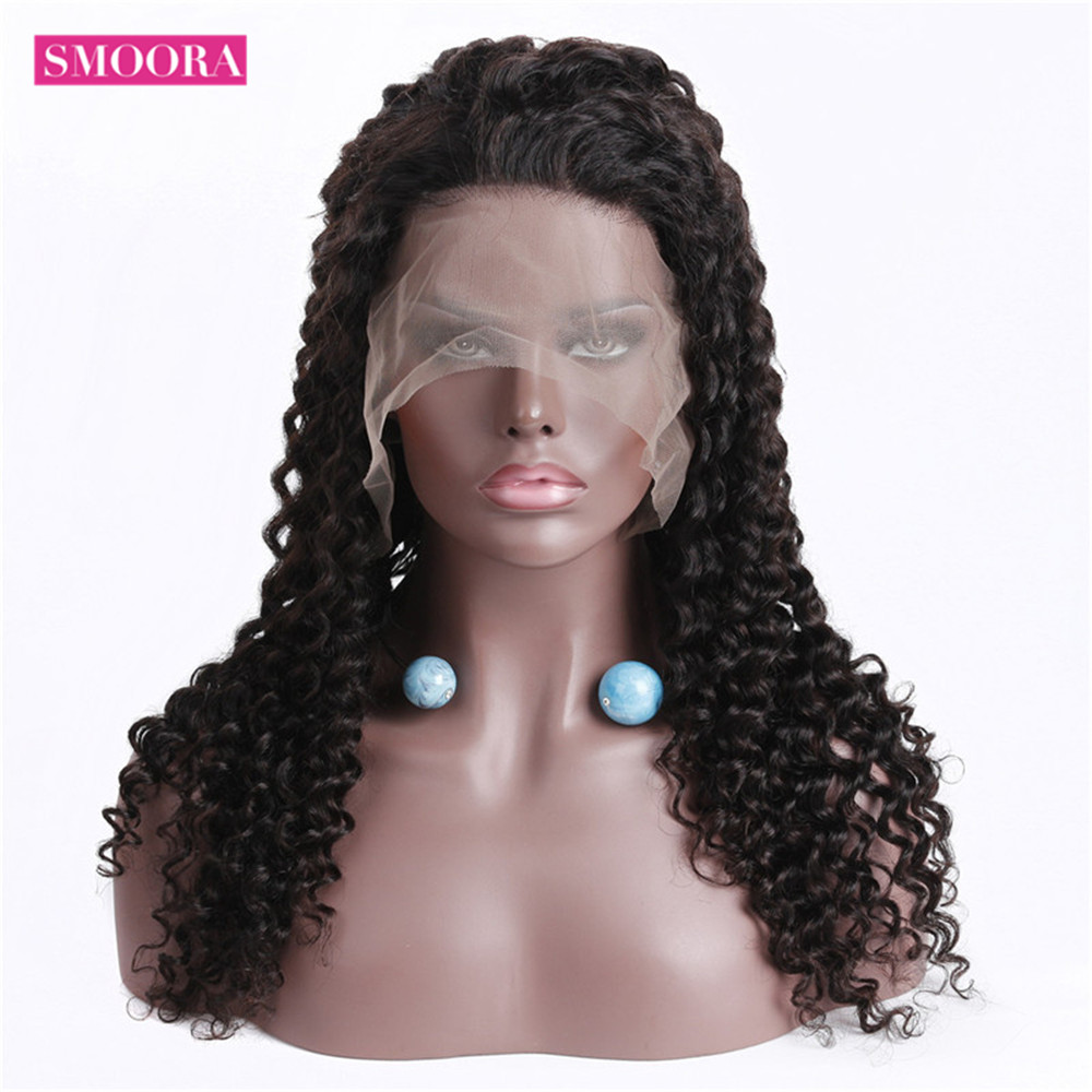 360 Lace Front  Wigs  Deep Wave Free Part  Wigs 360 Lace Frontal Wig PrePlucked With Baby Hair  3