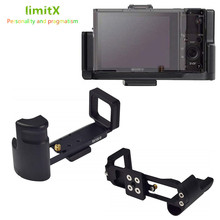 Quick Release L Plate Bracket Holder Hand Grip for Sony RX100 VII VA VI V IV III II M7 M6 M5 VA M4 M3 for Arca Swiss Tripod Head