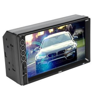 Image 3 - Reproductor Multimedia SWM N6 2DIN 7 pulgadas, con pantalla táctil, Bluetooth, vídeo estéreo para coche, MP4, MP5, USB, AUX, FM, Radio de coche, cámara de reserva