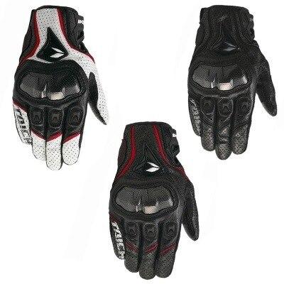 Rs 390 полностью кожаные перчатки из углеродного волокна для гоночного автомобиля, летние перчатки
