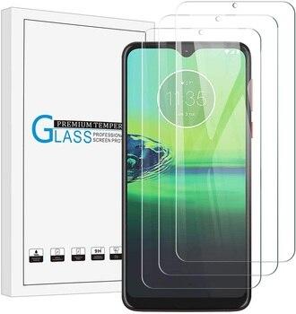 Перейти на Алиэкспресс и купить Закаленное стекло для Motorola Moto G8 Power Lite, Защитное стекло для экрана 2.5D 9H, закаленное стекло Moto G8 Plus Play, защитная пленка