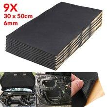 Шумоизоляционный коврик для автомобиля, 9x1 см, 0,6 см