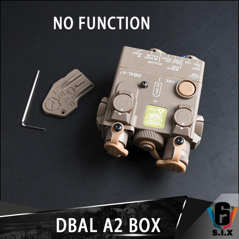 Tactische Plastic DBAL-A2 Dummy Model Laser Zicht Licht Dbal A2 Indicator Geen Functie Geen Schakelaar Met Qd Mount Fit Picatinny rail