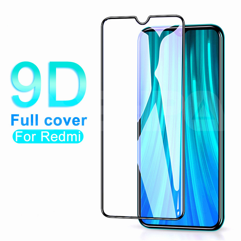 9D Tempered Glass On For Xiaomi Redmi 8 8A 7 7A 6 6A Go K20 Screen Protector Redmi Note 8 7 6 Pro Safety Protective Glass Film