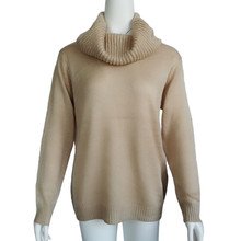 winter Knitted Turtleneck Casual Soft Elasticity Sweater SA