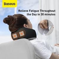 Baseus Memory Foam Neck Pillow Cervical Travel Pillow for Airplane Office Nap Car Pillows U Shape Flight Head Chin Support